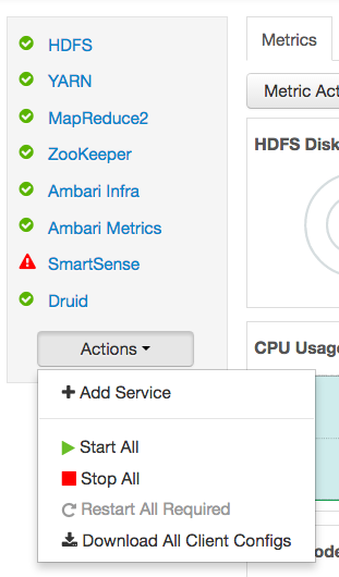 Add HDF Services to an HDP Cluster