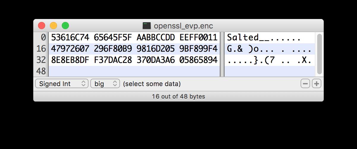OpenSSL PKCS#5 v1 5 EVP_BytesToKey