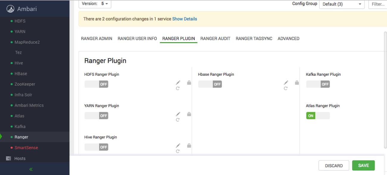 Configuring Atlas Authorization