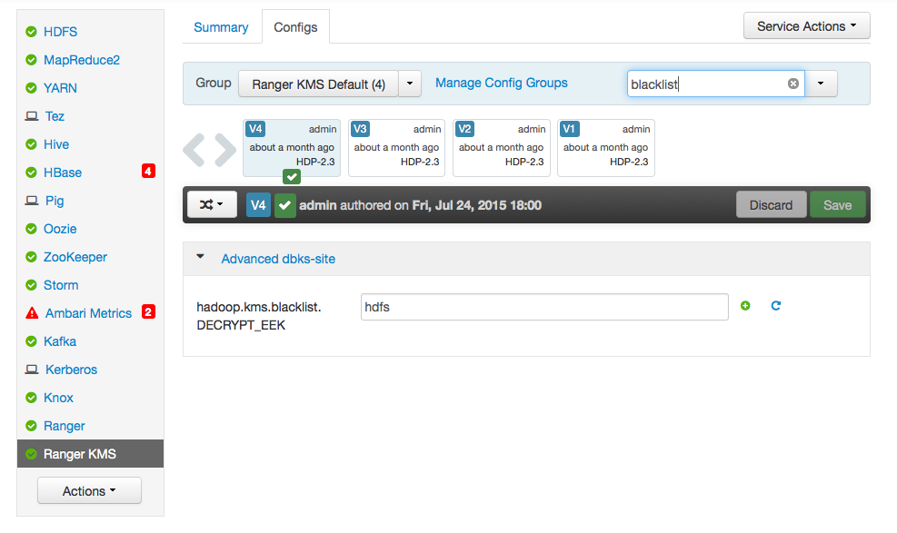 Configure WebHDFS for HDFS Encryption